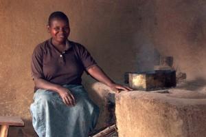 Kahangi Stove Lady, Kibale, Uganda